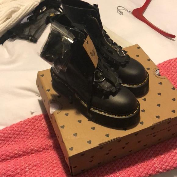 75c0e1230b4d Dr. Martens x Lazy Oaf Jungle Boots (NIB)
